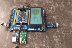 Мікроконтролерний комплекта Waveshare OpenH743I-C Package A,