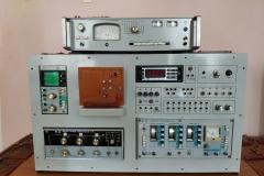 Лабораторний стенд з вимірювачем нелінійних спотворень С6-7