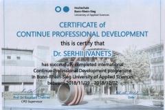 BRS-Certificate